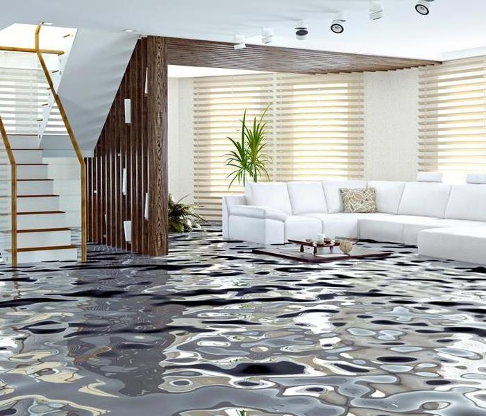 Water Damage SERVPRO Releases Safety Report for Homeowners Experiencing Nipomo Water Damage
