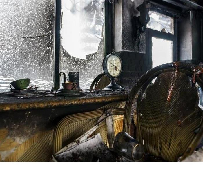 Fire Damage SERVPRO Releases Report for Homeowners Experiencing Nipomo Fire Damage
